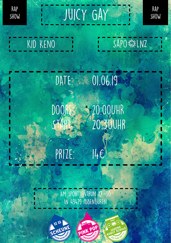 01.06.19 - Juicy Gay + Kid Keno + Sapo&LNZ