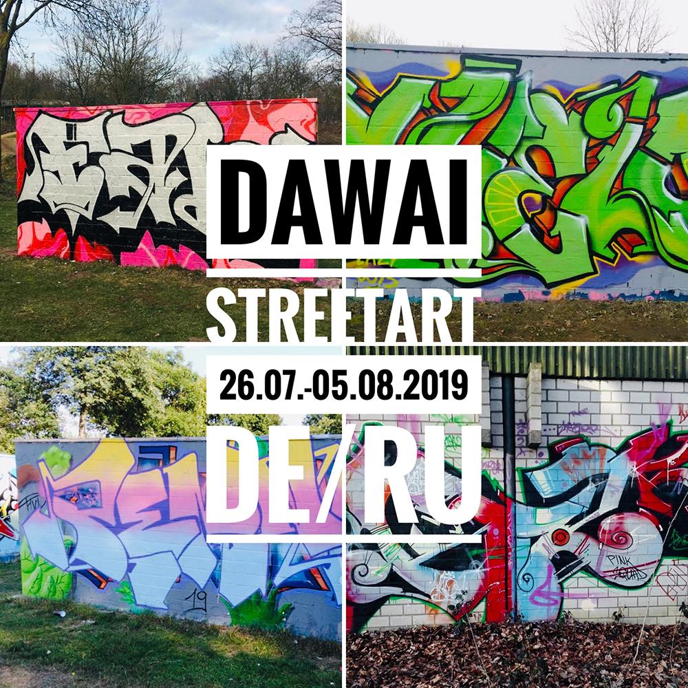 Projekte Dawai Streetart
